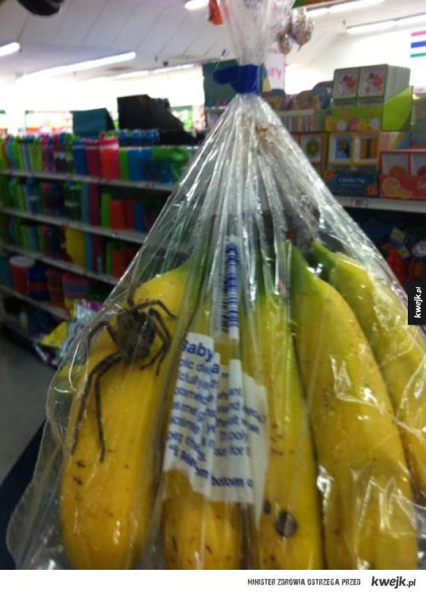 Uważajcie na bananany