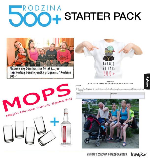 500+ starter pack