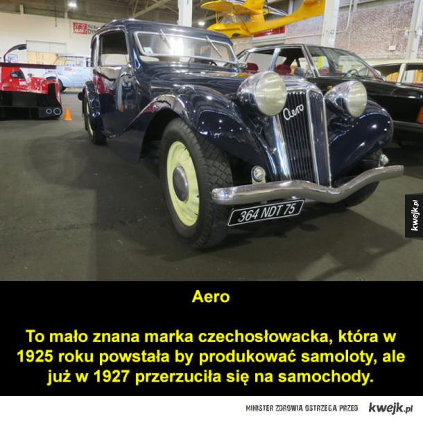 Mało znane marki i modele samochodów
