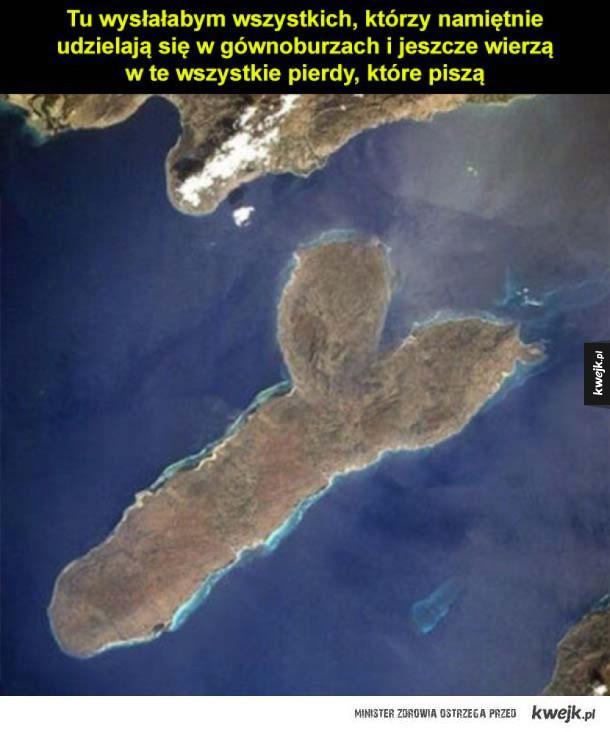 zielona wyspa szczęścia