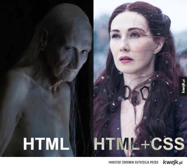 Kilka słów o HTMLu