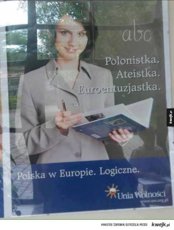 Polska w Europie XD