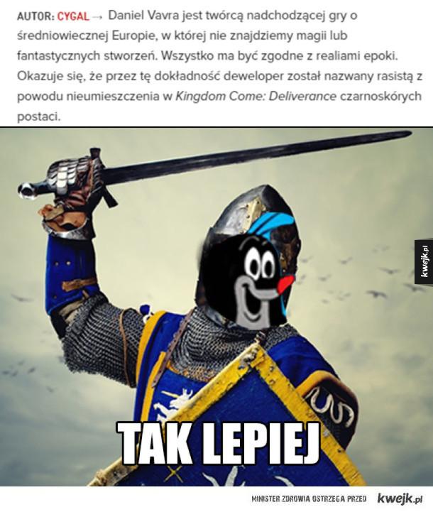 Gra o średniowiecznych Czechach