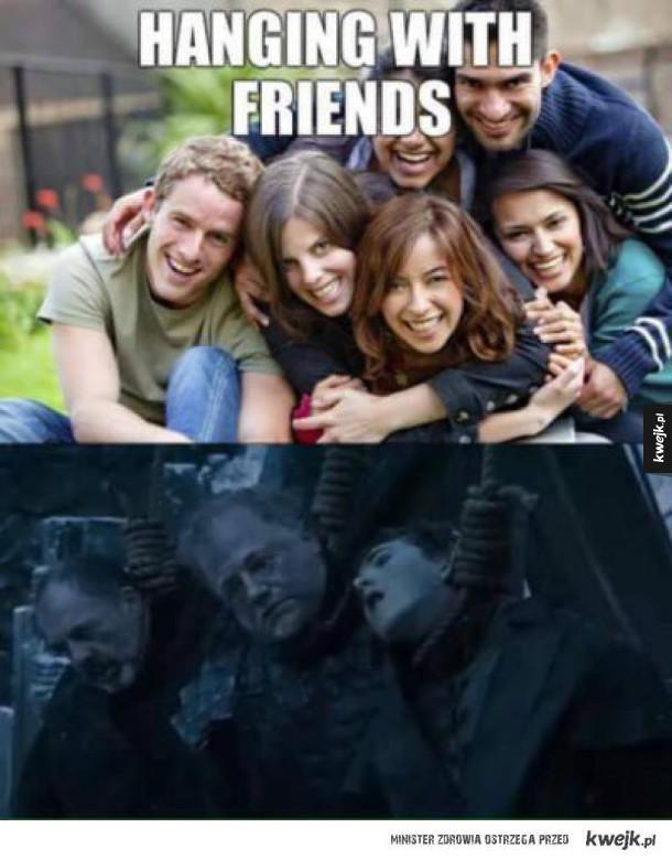 z przyjaciółmi