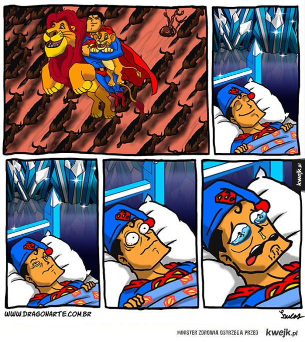 Złe sny superbohaterów!