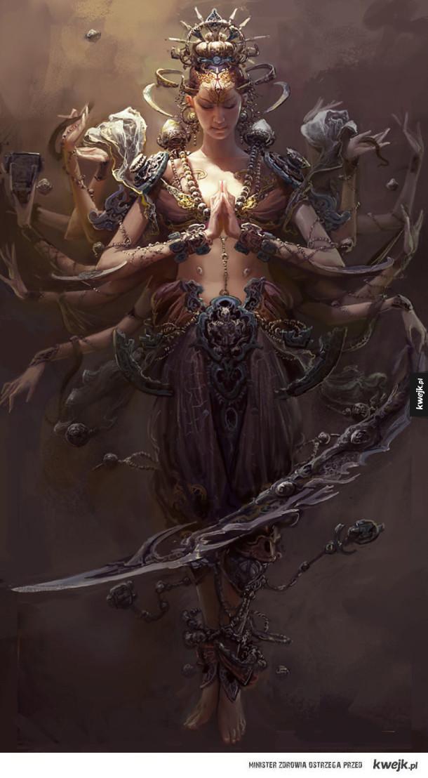 Grafiki fantasy autorstwa Fenghuy Zhonga