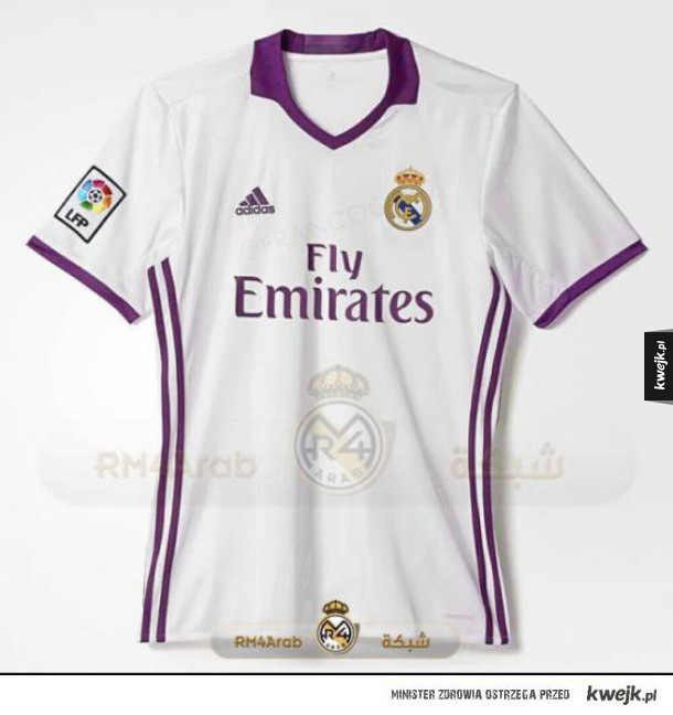 Koszulki Realu na 2016/7