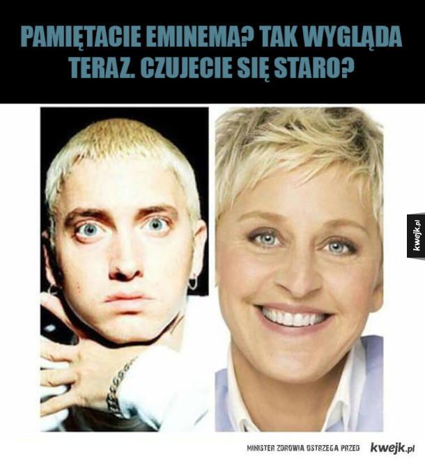 Eminem kiedyś i dziś