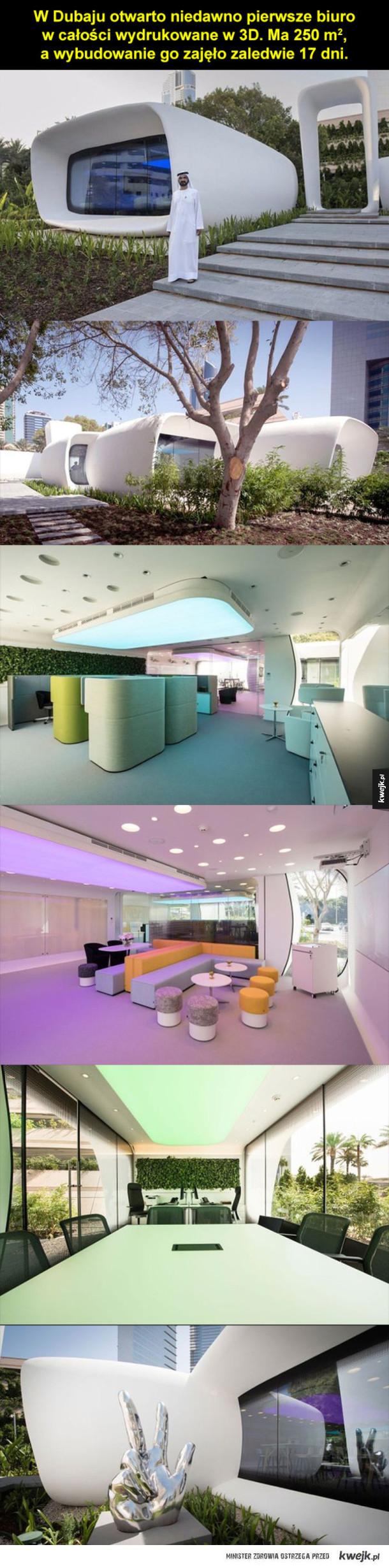Biuro z drukarki 3D
