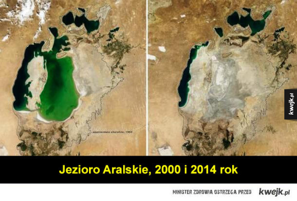 Zmiany klimatu i zmiany na Ziemi