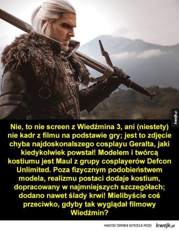 Geralt jak żywy!
