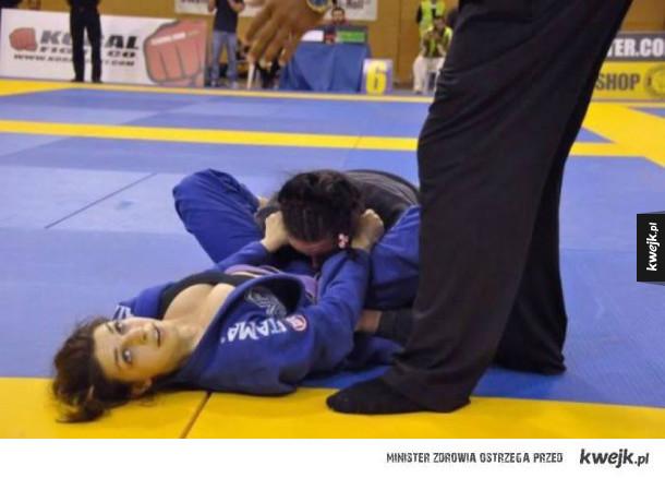 Już wiem czemu lubi Judo