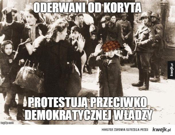 Demonstracje...