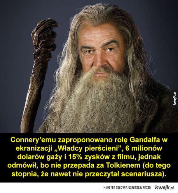 Role, które odrzucił Sean Connery...
