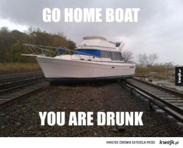 odejdź pijaku