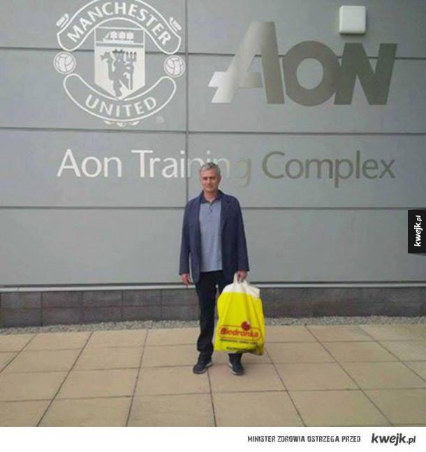 Jose już w nowej pracy