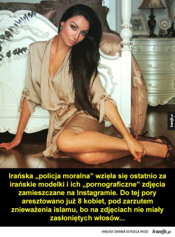 Irańska policja aresztuje modelki