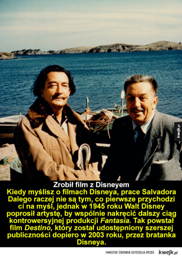 Salvador Dali - tego o nim nie wiedziałeś!