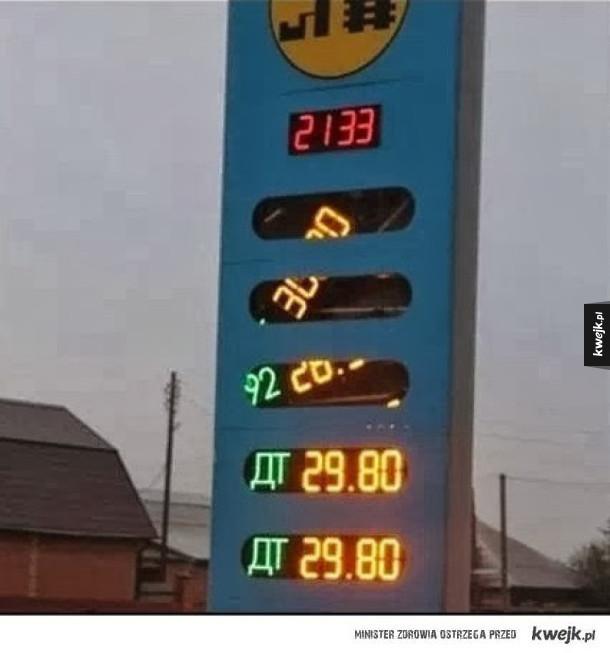 Ceny ropy spadają!
