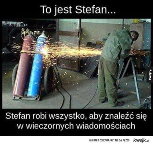 Poznajcie Stefana