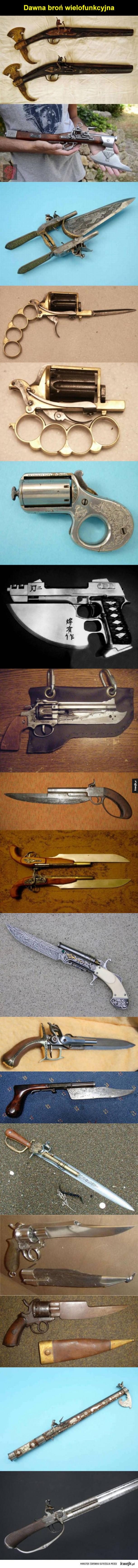 Wielozadaniowa broń