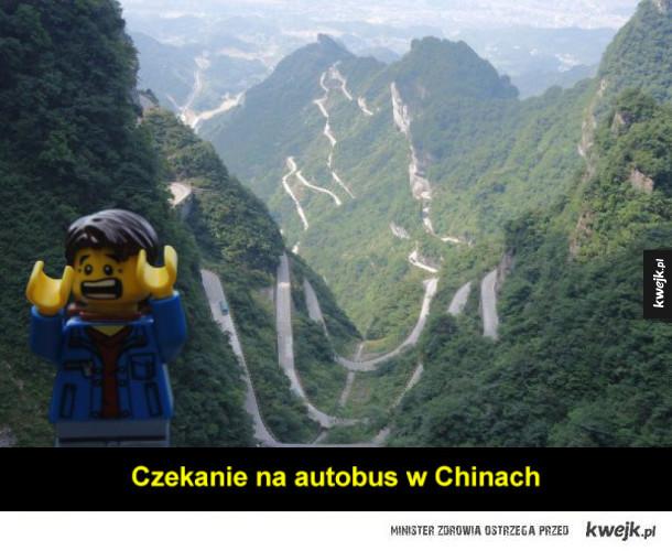 Ludzik Lego, który zwiedził więcej świata niż ty