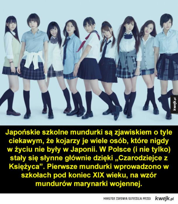 Ciekawostki o japońskich mundurkach szkolnych