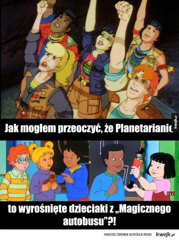 Kapitan Planeta - teoria spiskowa