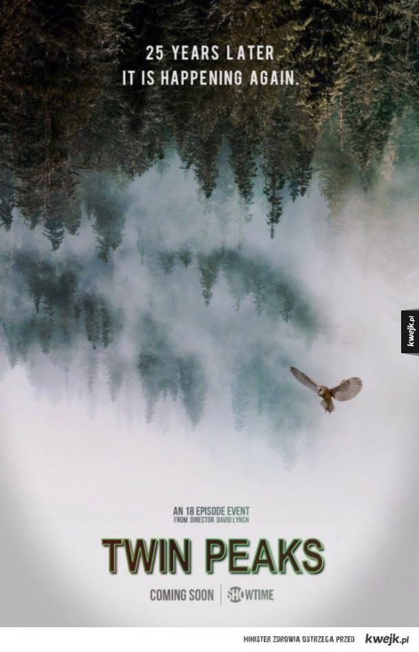 Plakat nowego Twin Peaks!