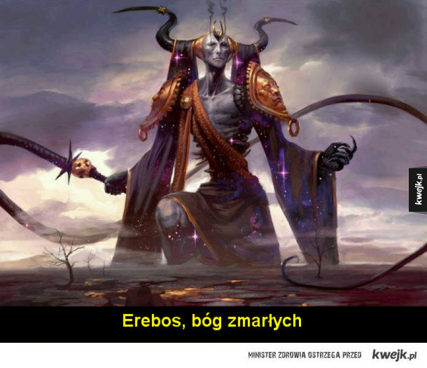 Bogowie Theros z uniwersum Magic: The Gathering