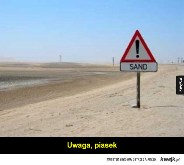 Bezużyteczne znaki i tablice informacyjne