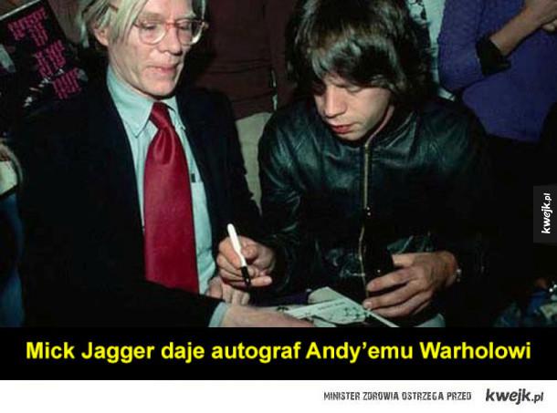 Gwiazdy proszą o autograf inne gwiazdy