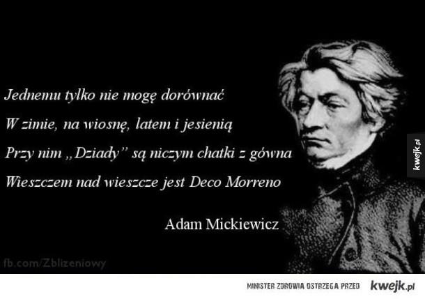 Mickiewicz o Decco Morreno
