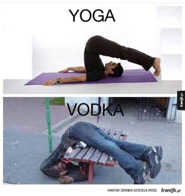 Yoga-Vodka
