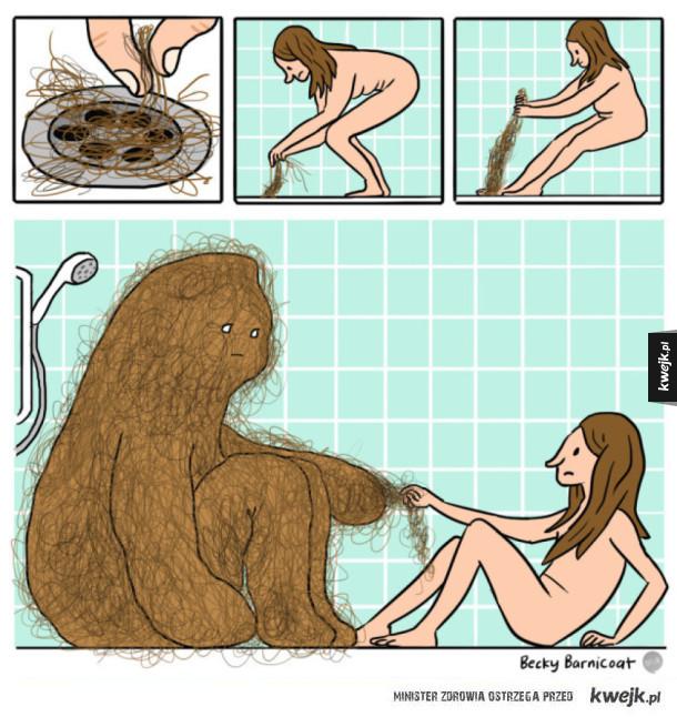 Uważajcie na potwory łazienkowe