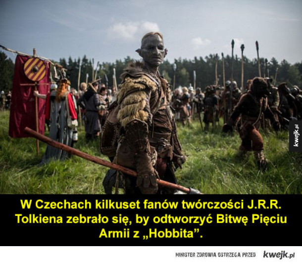 Bitwa Pięciu Armii w wykonaniu czeskich fanów