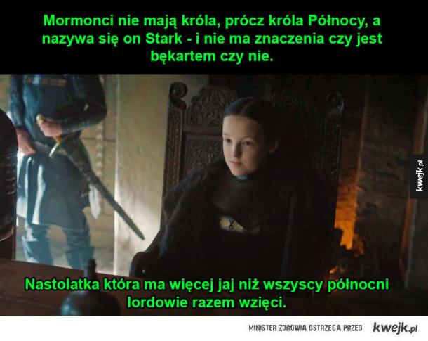 Lyanna Mormont pamięta