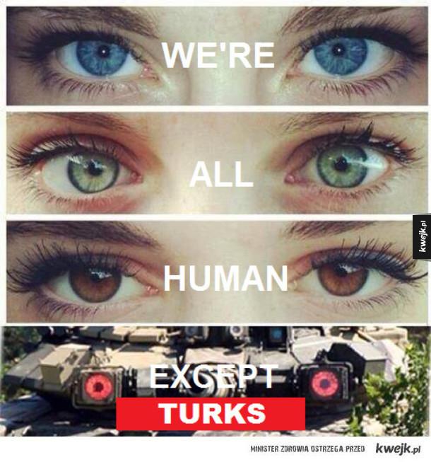 Wszyscy jesteśmy ludźmi... Prawie