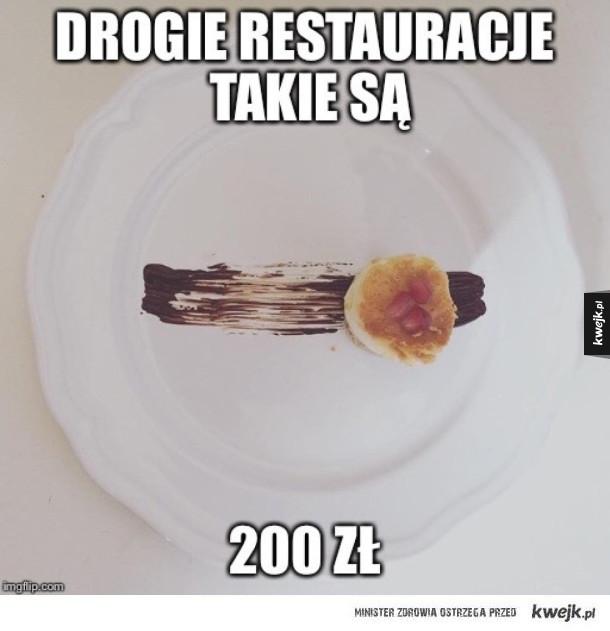 Drogie restauracje