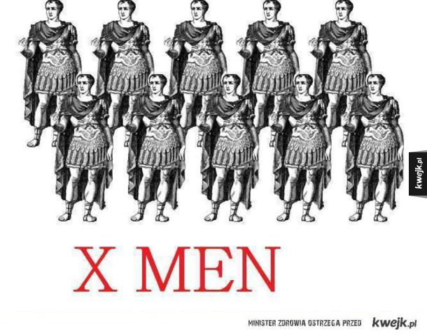 Prawdziwe X Men