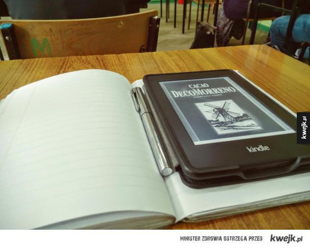 Idę z duchem czasu - czytam klasykę na Kindlu
