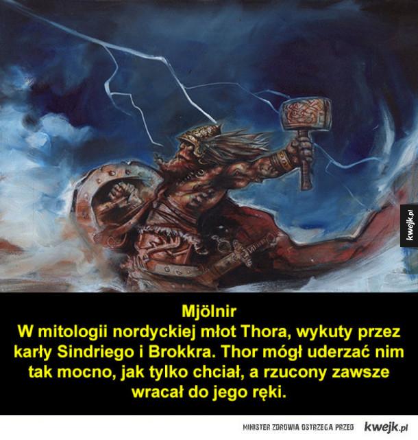 Legendarne i mityczne bronie