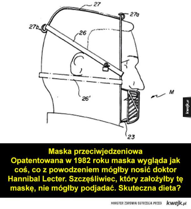 Najdziwniejsze i absurdalne patenty