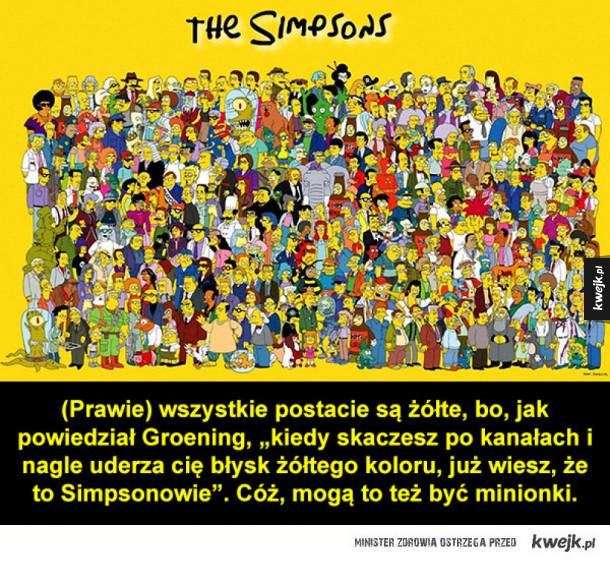 Ciekawostki o Simpsonach