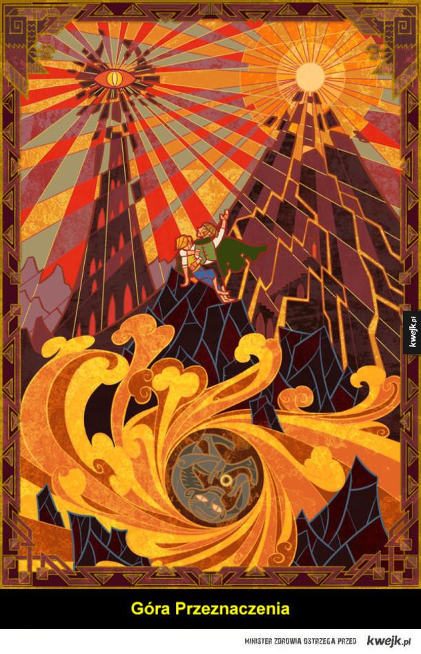 Legendarium Tolkiena na grafikach Jian Guo