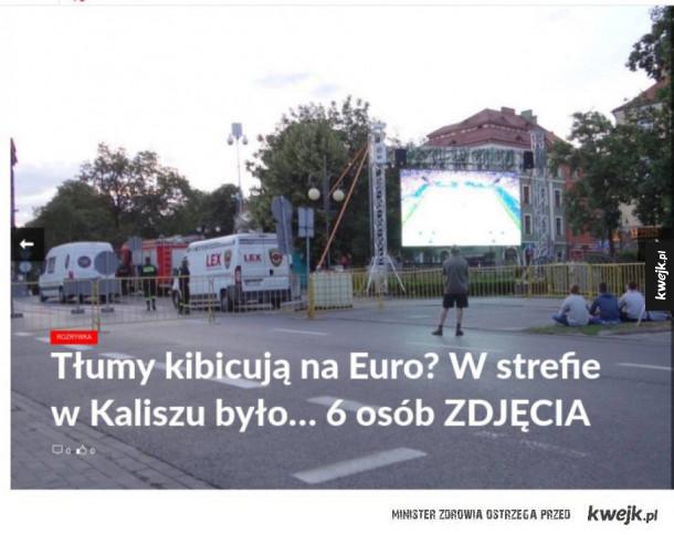 Strefa kibica w Kaliszu