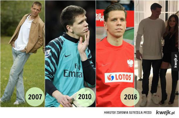 Jak zmienili się Polscy piłkarze - polscy piłkarze kiedyś i dziś