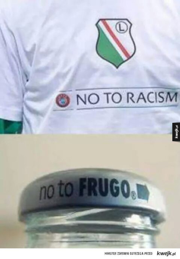 No to racism?