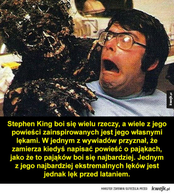 Kilka ciekawostek o Stephenie Kingu