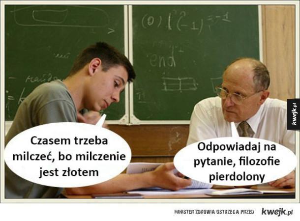 Na egzaminie